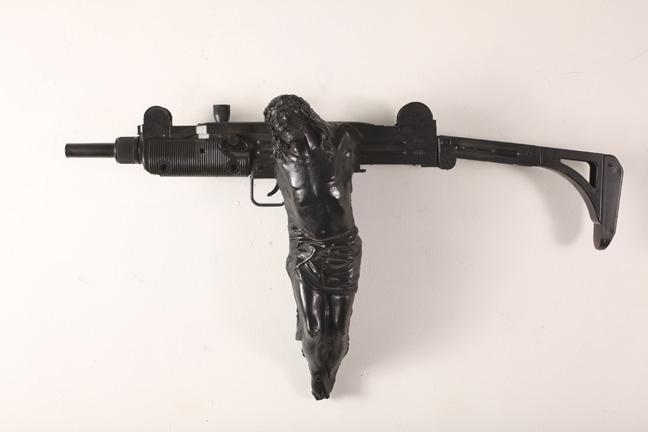 jesus machine gun
